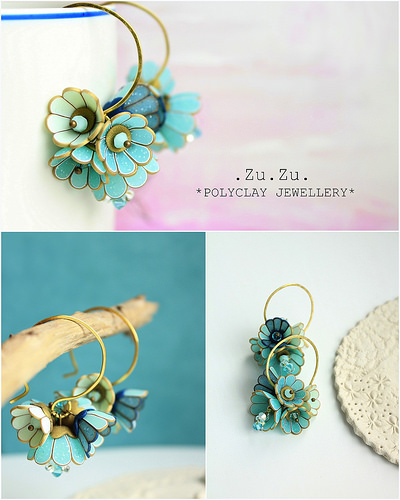 Polymer clay earrings for special occasions (6)