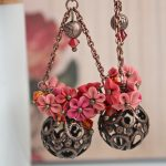 Polymer clay earrings for special occasions (8)