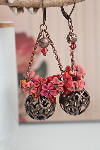 Polymer clay earrings for special occasions (7)