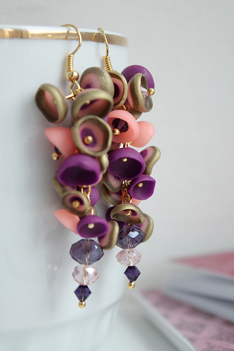 Polymer clay earrings for special occasions (9)