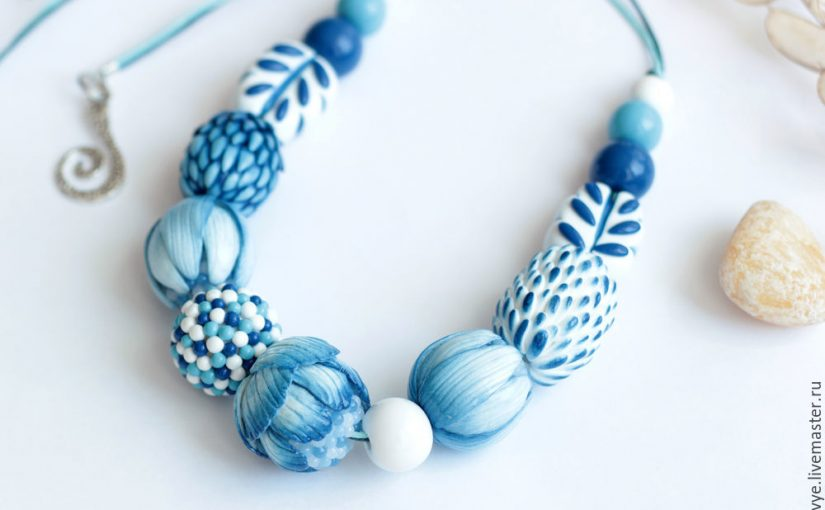 Polymer clay gradient beads tutorial