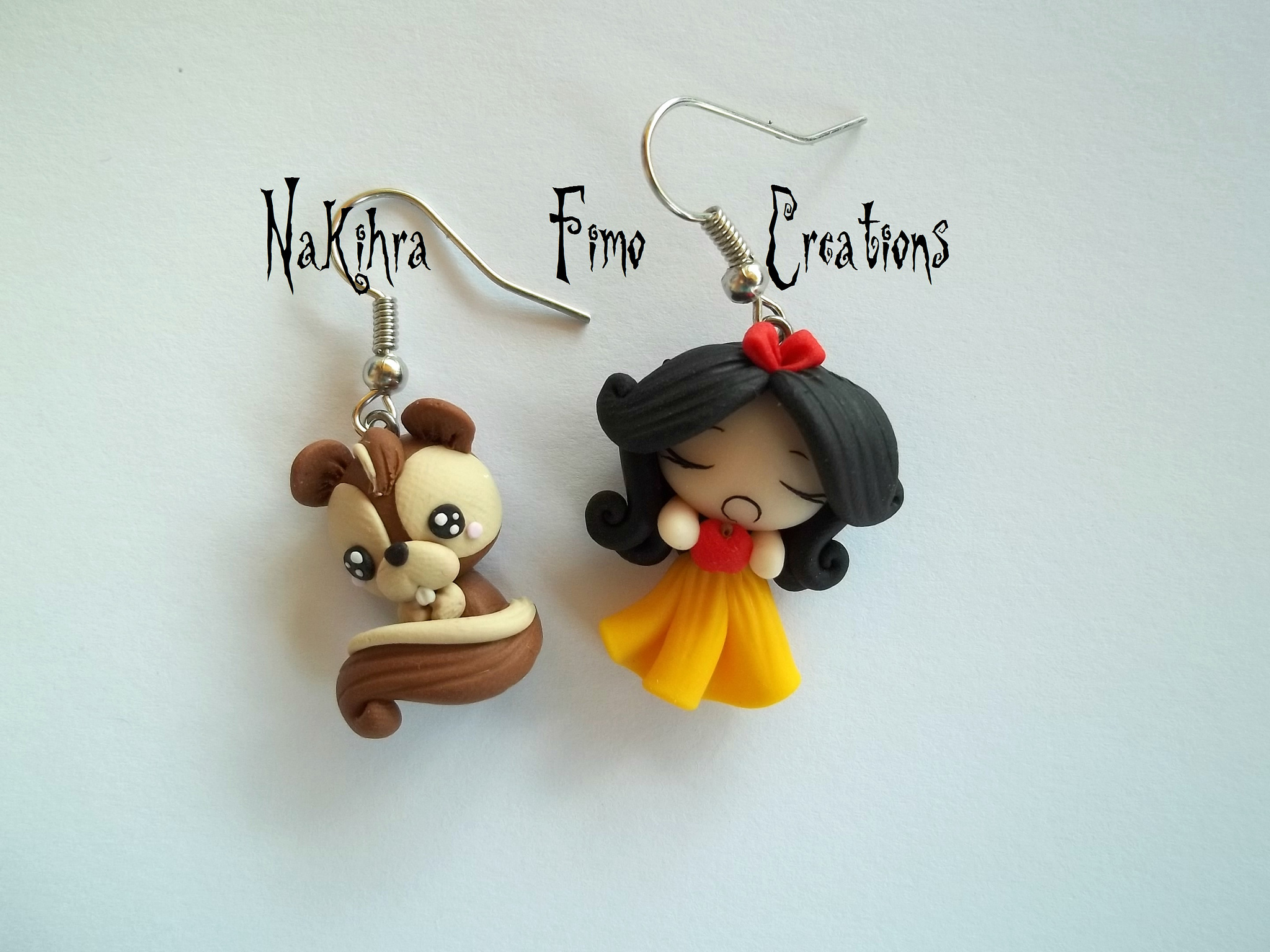 Polymer clay Snow White ideas