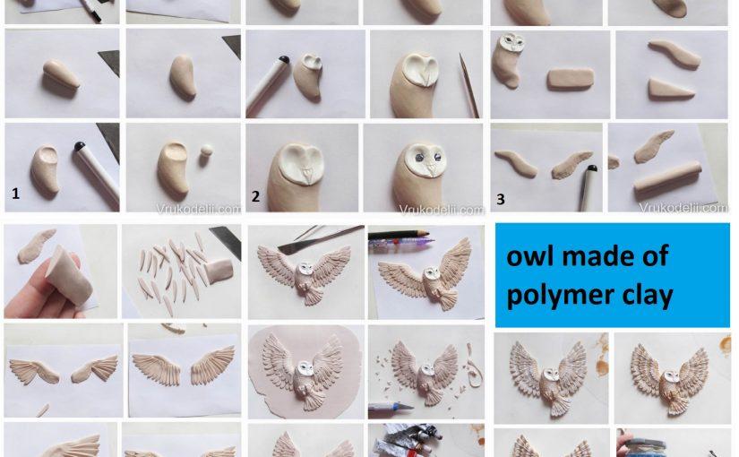 polymer clay caw tutorial - DIY step by step