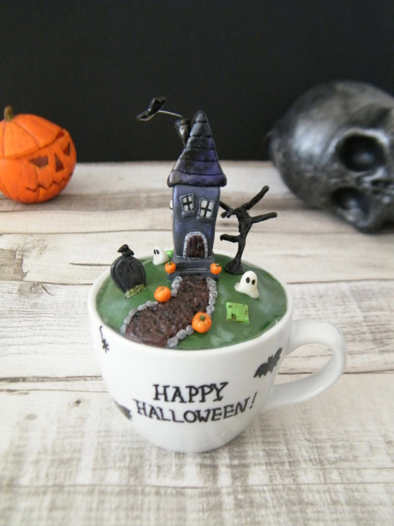 halloween decorations clay ideas