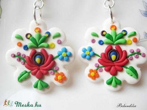 Matyo flower earrings