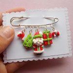 Christmas Bracelet - Winter Bracelet - Snowflake Bracelet - Christmas Gift - Xmas Bracelet - New Year Bracelet - Santa Bracelet