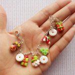 Christmas Earrings - Santa Earrings - Novelty Earrings - Christmas Jewellery - Santa Studs - Holiday Festive Earrings - Christmas Gift -