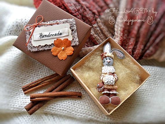 Selection of lovely polymer clay brooches