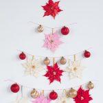 Clay Poinsettias for Christmas Decor 2