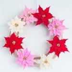 Clay Poinsettias for Christmas Decor 3