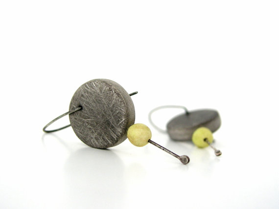 Clay modern earrings to try