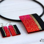Handmade polymer clay jewelry sets (15)