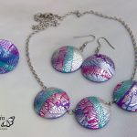Handmade polymer clay jewelry sets (16)