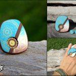 Handmade polymer clay jewelry sets (18)