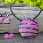 Handmade polymer clay jewelry sets (24)