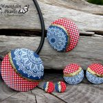 Handmade polymer clay jewelry sets (26)