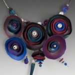 Polymer clay exquisite necklace (3)