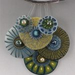 Polymer clay exquisite necklace (10)