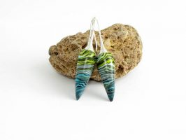 Unique polymer clay earrings – ideas for an envied look
