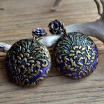 Amazing polymer clay earrings