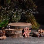 Christmas stocking stuffers Christmas brooch, holiday brooch, polymer clay thing, Christmas present, Christmas cookies 1