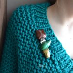 Fimo tulip jewelry