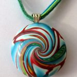 multicolred bead