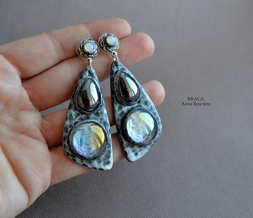 Superb earrings