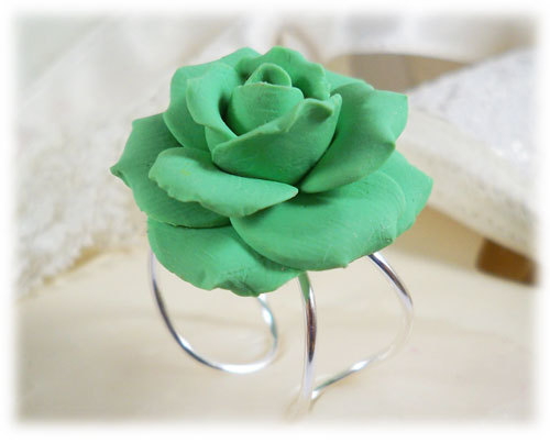 Polymer clay rose ring ideas that you'll love