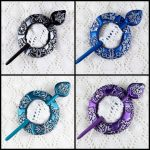 Reserved Listing for Karin – Snowflake Shawl, Scarf or Hair Pins