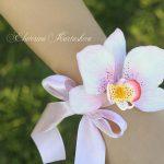 Women flower jewelry Succulent corsage wedding corsage wrist bridal bouquet wedding accessories bridesmaids clay flowers, bracelets