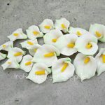 Lily of the valley, polymer clay flowers, polymer clay flower bead