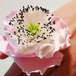Chrysanthemum Flower Ring, Floral Jewelry