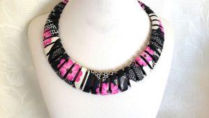 Original polymer clay necklace