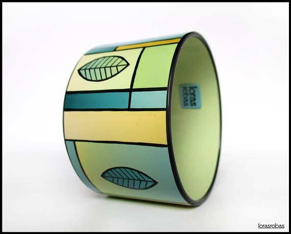 Amazing polymer clay bangle