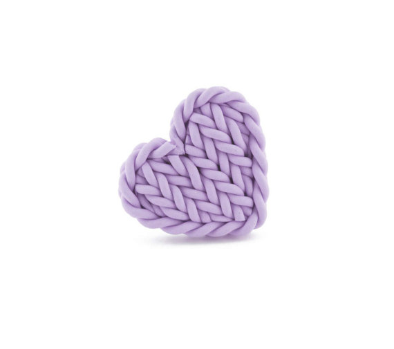 Unique ring, heart ring, knitting ring, gift for aunt, adjustable ring, heart jewelry for women, gift for knitter, gift for girlfriend