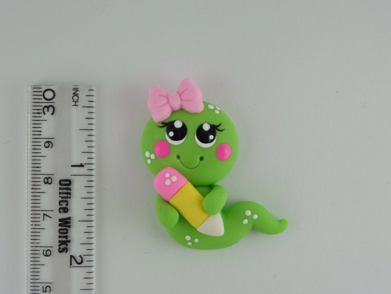 Polymer clay worm ideas