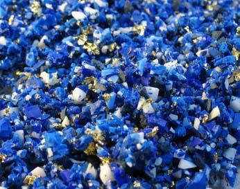 Faux polymer clay Lapis Lazuli tutorial DIY