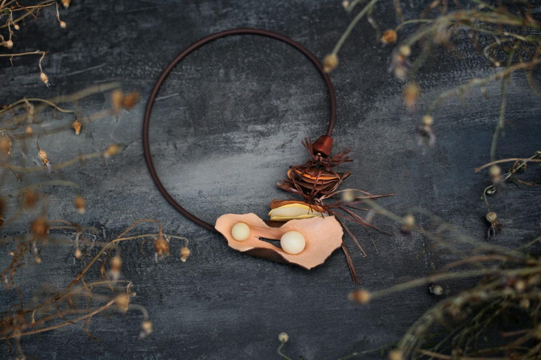 Polymer clay unusual necklace ideas