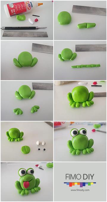 Polymer-clay-frog-diy-tutorial-stripe