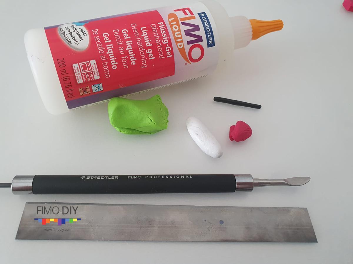 Polymer clay frog diy tutorial